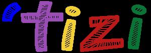 tizi text logo