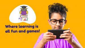 screen time playing Tizi Games