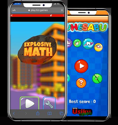 Boost Your Kids' Math Skills with Explosive Maths and Tuhesabu Bano games on Tizi